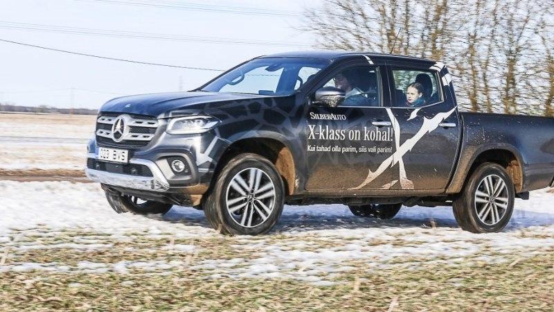 Mercedes-Benz X-klass: katse murda noobelkastikaga maasturilaadsete ülemvõim