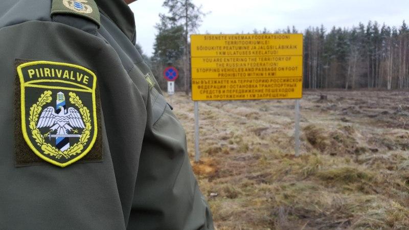 Piirivalvurid pidasid kinni Vene piiriposti juures pilti teinud paari