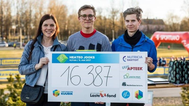 VIDEO   Heateo jooksuga kogutakse raha psüühikahäiretega lastele