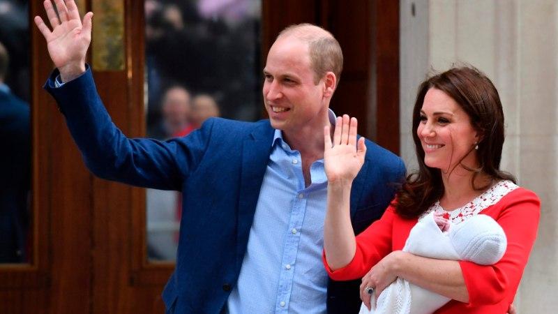 MILLINE ON KUNINGLIK JÄRJEKORD: väike prints tõukas Harry troonist kaugemale
