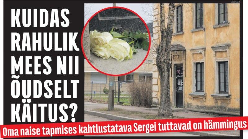 Prefekt Narva kiremõrvast: teadsime hirmunud naisest, kuid ei tundnud ohtu ära