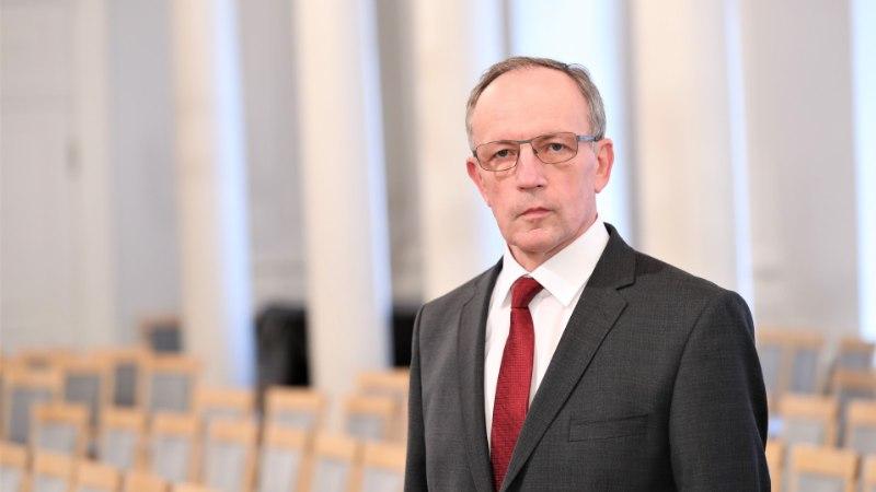 Uus rektor Toomas Asser: teeme Tartu ülikooli üheskoos paremaks