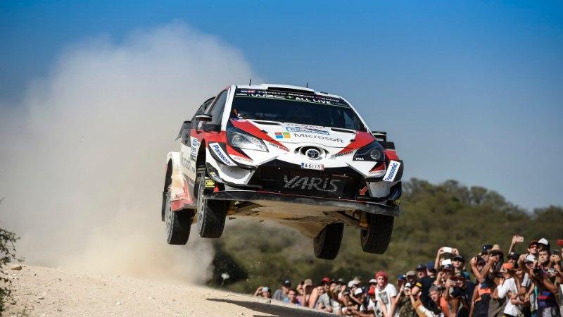 NII SEE JUHTUS   Argentina ralli: Tänak võttis Toyotaga esimese võidu!