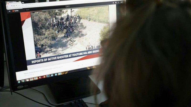 FOTOD ja VIDEO | Youtube'i peakorteris avas tule naisterahvas