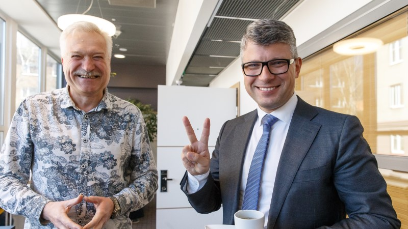 OTSEVIDEO ja -FOTOD   Janek Mäggi liitub Keskerakonnaga ja kandideerib riigikokku
