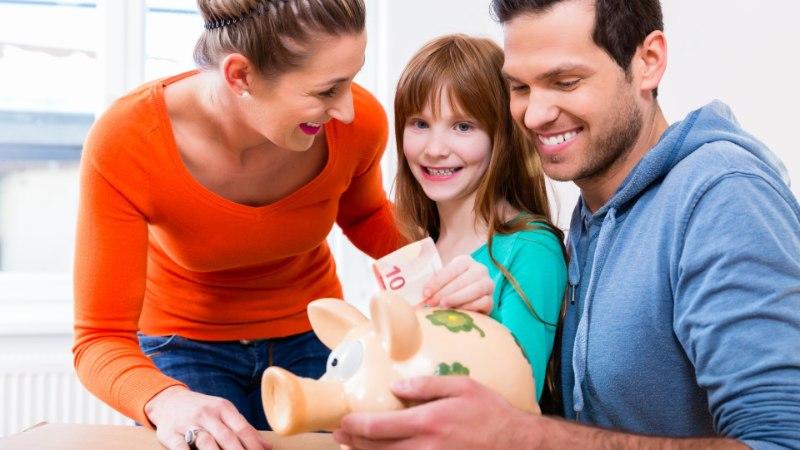 5 asja, mida peaksid oma lapsele raha kohta õpetama