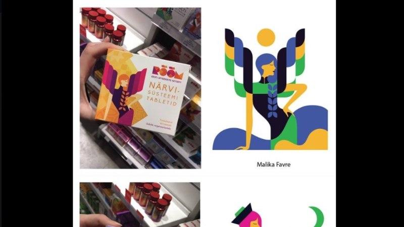 Kuldmunal auhinnalise koha pälvinud RÕÕMu toidulisandite disain osutus plagiaadiks