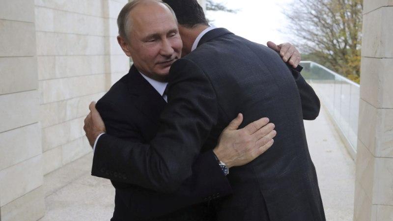 UUED SANKTSIOONID: USA püüab Putiniga sõbrustamise ebamugavaks teha