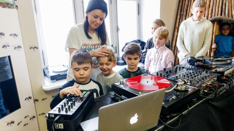 GALERII | Tallinn Music Weeki töötubades õpetati lastele räppi, poppi, fantaasiapille ja muud muusikat