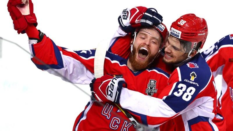 VIDEO | Ülihaarav poolfinaal KHLis: CSKA lülitas konkurentsist rohkem kui tosin olümpiavõitjat