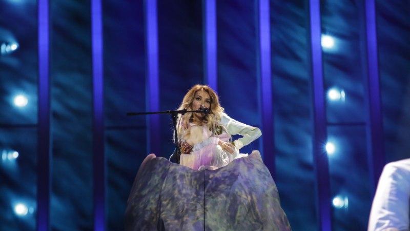 FOTOD | Venemaa eurolaulja Julia Samoilova muundub eurolaval mäeks