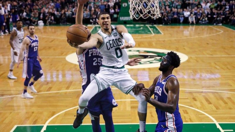 VIDEO | Boston Celticsi noored ässad võtsid Philadelphia skalbi, ees ootab LeBron James