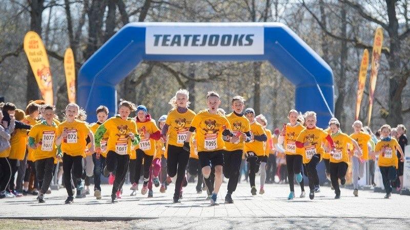 Rohkem kui 12 000 last jookseb heategevuse nimel