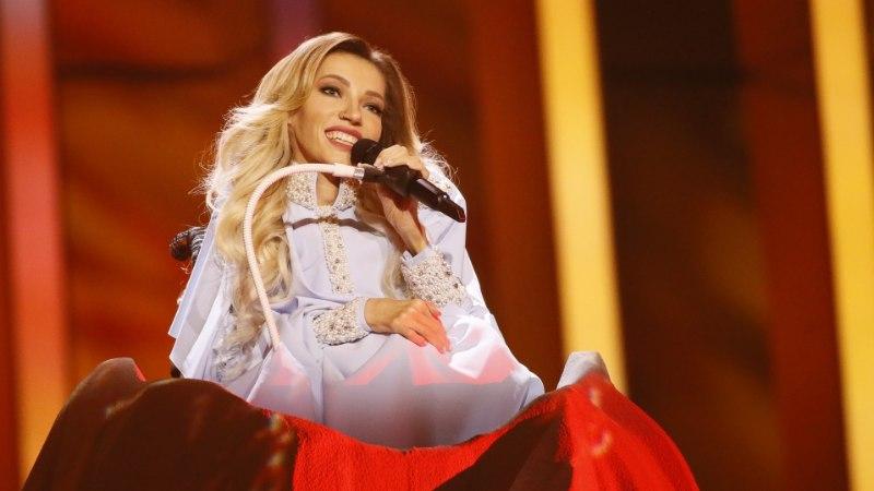 Venemaa eurolaulik Julia Samoilova unustas Eurovisioni otse-eetris oma laulusõnad