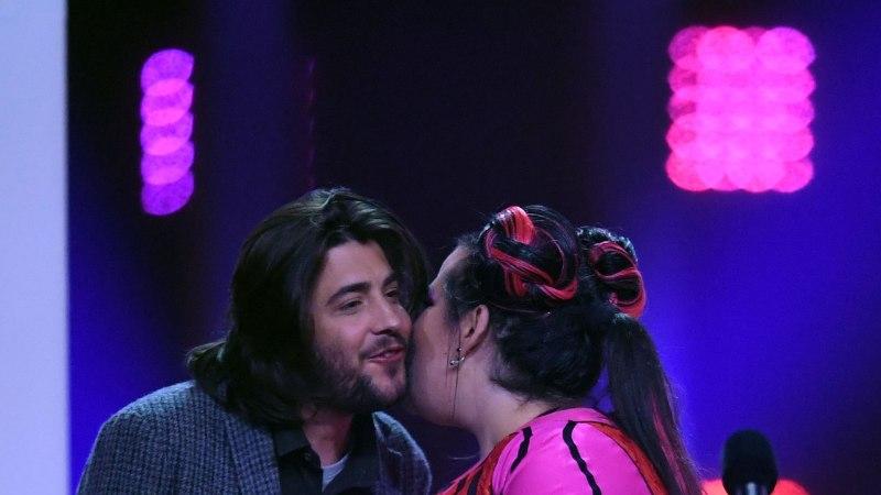 Eurovisioni auhinna üleandmisel tekkis piinlik olukord