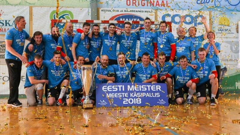 GALERII   UHKE VÄRK! Põlva Serviti krooniti neljandat korda järjest Eesti meistriks