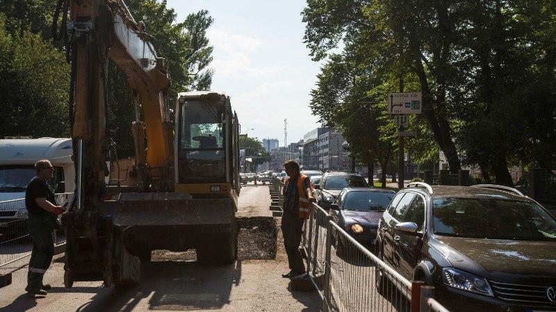 Tallinna kesklinnas hakatakse remontima kõnniteed