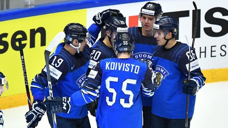 JÄÄHOKI MM: Soome küttis USA-le sauna ja võitis alagrupi