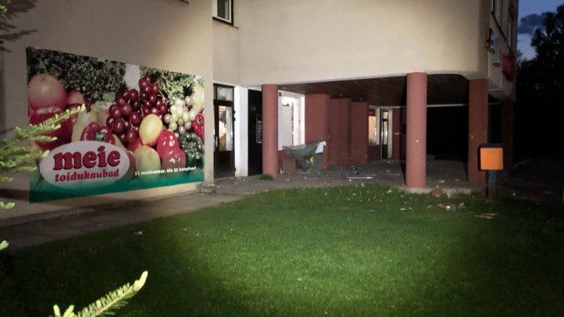 GALERII | Järvamaal Aravetel lasti sularahaautomaat õhku