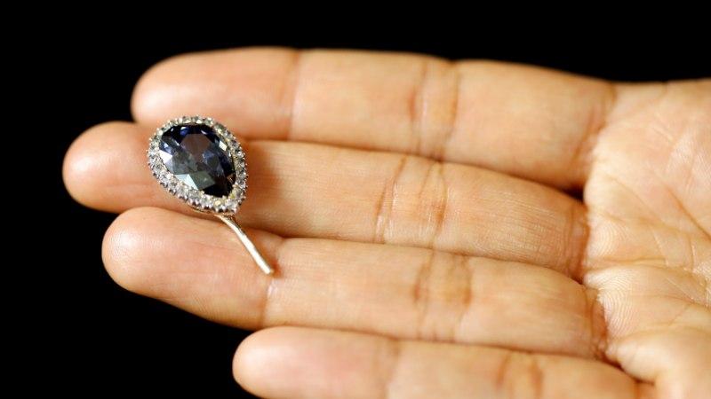 Продан редкий голубой бриллиант за 5,6 млн евро