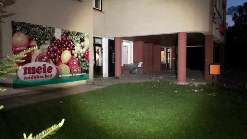 Как в кино: воры взорвали банкомат в Ярвамаа и сбежали с деньгами (ФОТО)