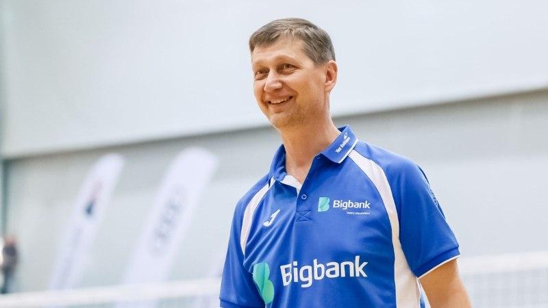 Tartu võrkpallimeeskonna peatreenerina jätkab Andrei Ojamets