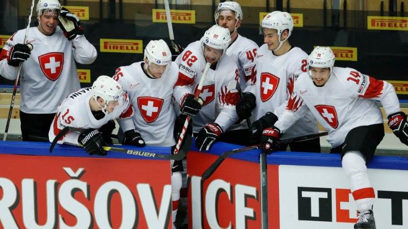 Šveits lõpetas Soome hokimeeste MM-turniiri!