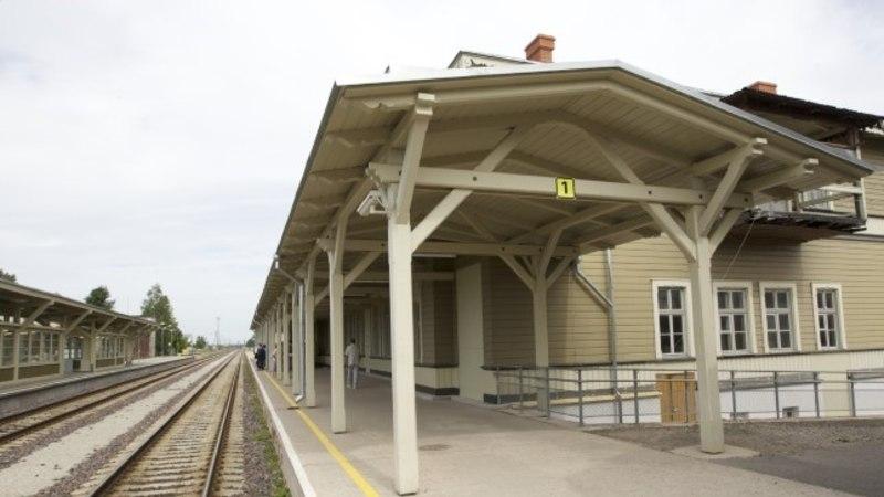 Eriolukord Tartu raudteejaamas võib kesta pühapäevani