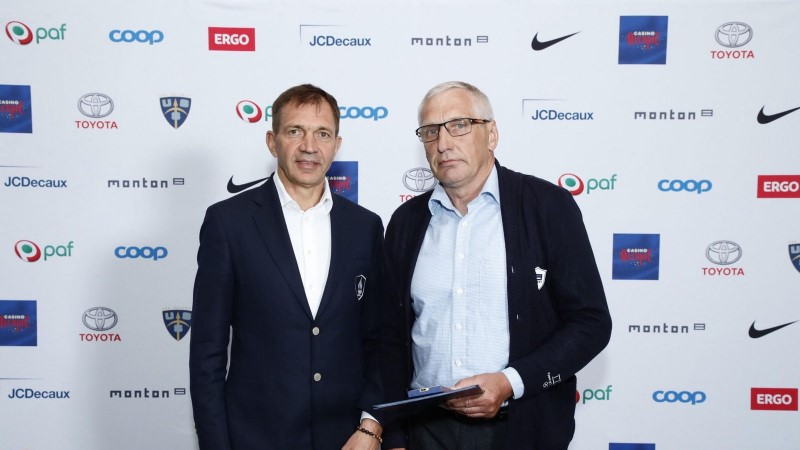 Eesti kiiruisutamise isa Väino Treiman sai EOK kõrgeima tunnustuse osaliseks
