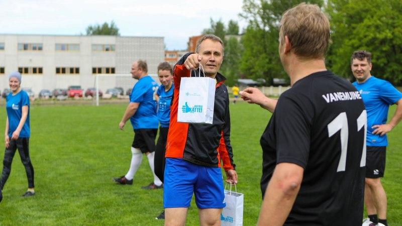 Pingeline lõpp: Kutsehariduskeskus võitis Tartu esinduslikema vutiturniiri