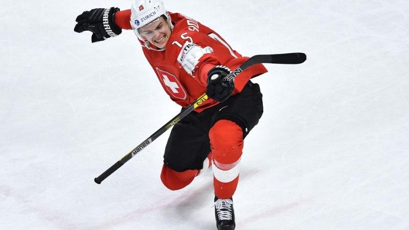 JÄÄHOKI MM: Soomet üllatanud Šveits alistas ka Kanada ja jõudis finaali!