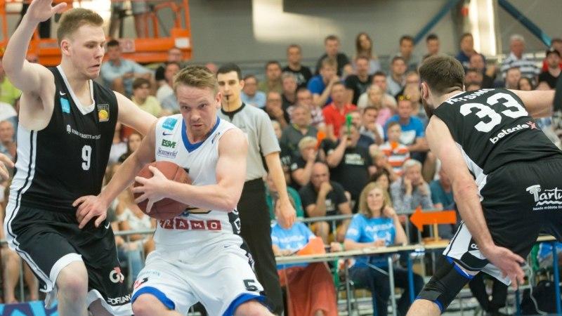 Sten Sokk: Kalev/Cramol oli täna Tartu vastu lihtsam mängida kui Tallinnas