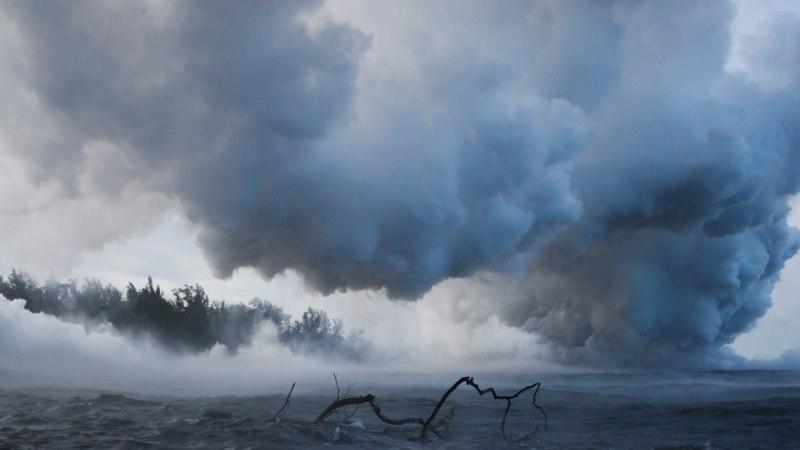 GALERII   Olukord Hawaiil on jätkuvalt kriitiline, teatati ka Kilauea esimesest ohvrist