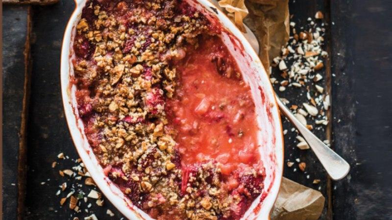 Maasika-rabarbrikrõbedik