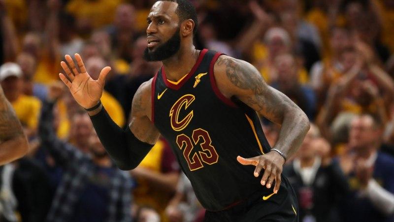 VIDEO | Cavaliers viigistas Celticsi vastu seeria, 44 punkti visanud LeBron James püstitas rekordi