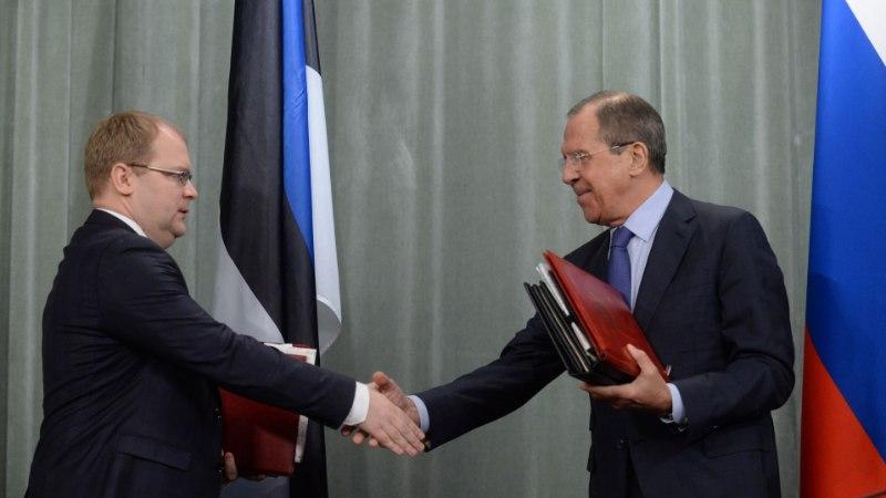 Vene saatkond: piirilepet ei ratifitseerita, kuni Eesti jätkab russofoobset retoorikat
