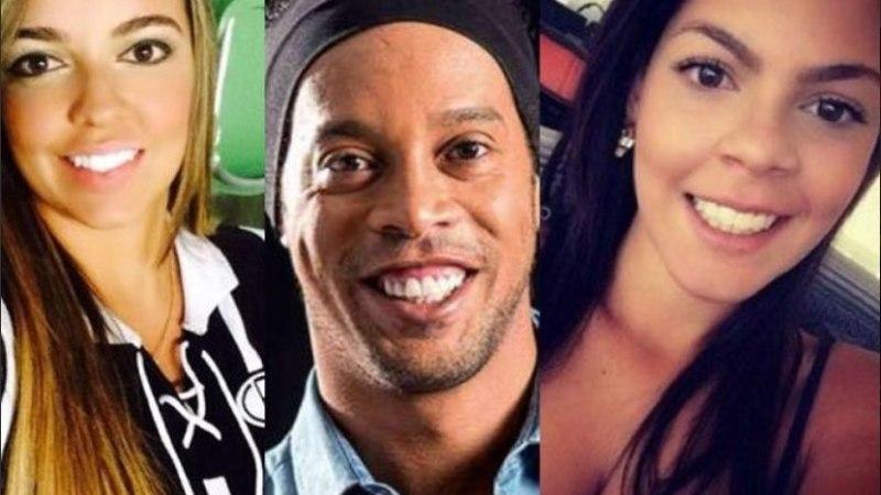 MIDA TÄKKU! Ronaldinho kosib augustis kaks näkki korraga