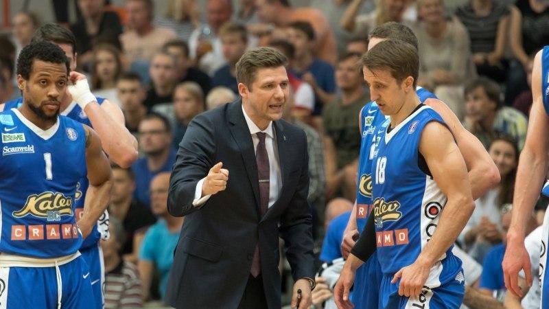 Kuldse Kalev/Cramo peatreener Kairys: pidutseme ja pärast seda pidutseme veel rohkem