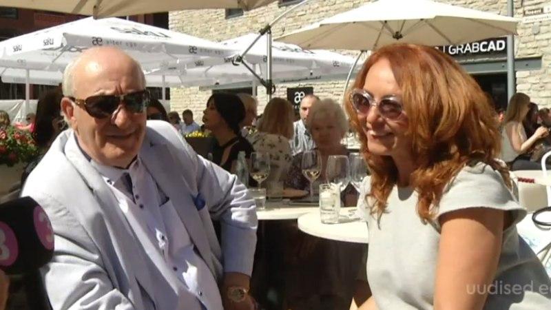 TV3 VIDEO | Krista Lensin tähistas koos grusiinist isaga Gruusia 100. sünnipäeva
