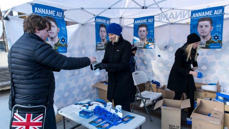 Sinilillekampaania raames annetati veteranide ja terviseedenduse toetamiseks 70 000 eurot