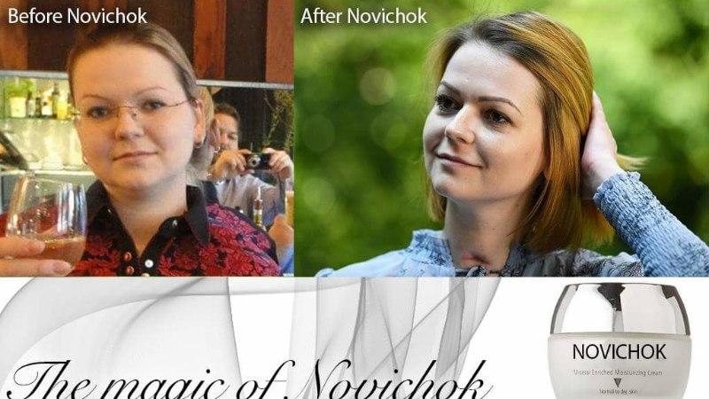 HÄBIVÄÄRNE: Vene sotsiaalmeedias mõnitatakse Julia Skripali