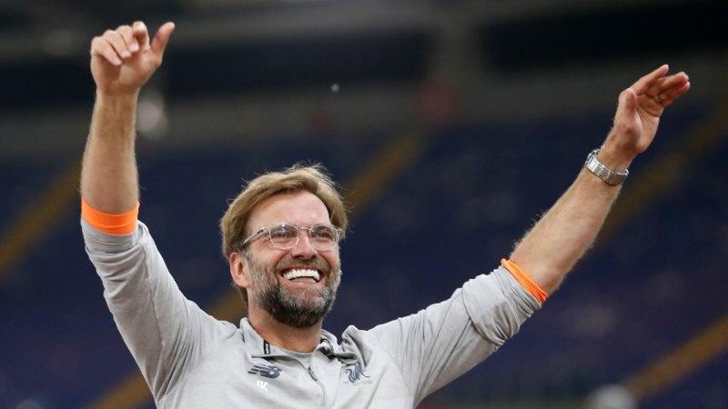 Jürgen Klopp: kui Roma jõudnuks finaali, olnuks see samuti õiglane