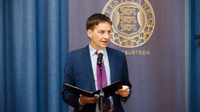 Eesti panga president hoiatas majanduskasvu aeglustamise eest