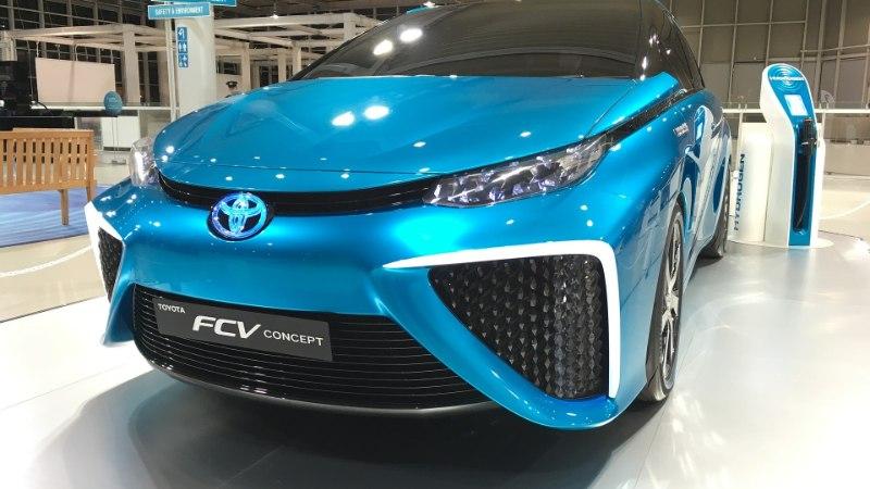 Unustage juhtmepuntrad ja pikk laadimine, vesinik tuleb! Toyota näitab teed