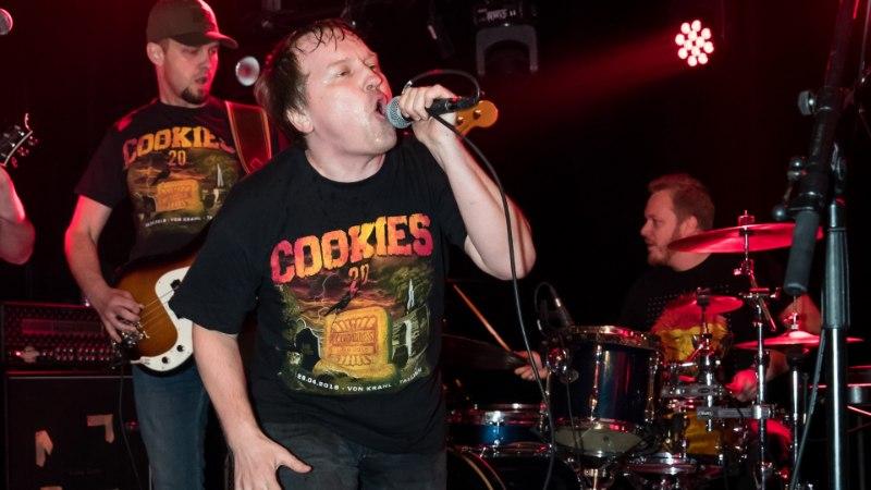 PILDIGALERII | Eesti esimene räppmetalbänd Cookies tähistas 20. sünnipäeva