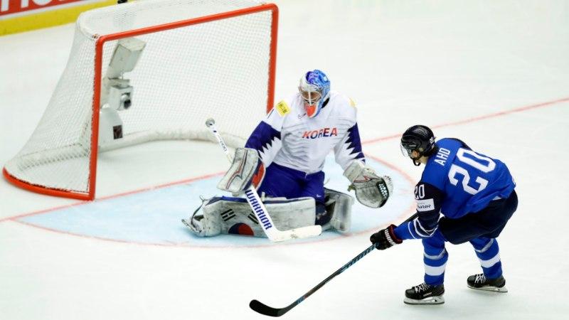 Soome jäähokikoondis alustas purustustööga ning kordas MMi rekordit