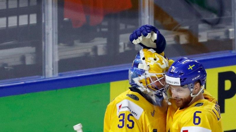 GALERII ja VIDEO   Rootsi alustas MMi võimsa võiduga, Taani tegi suurele naabrile säru