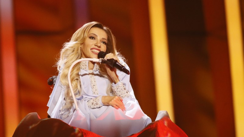 VIDEO   Delegatsiooniliige Venemaa eurolauljast: Julia pole Celine Dion, ta on laulja ratastoolis