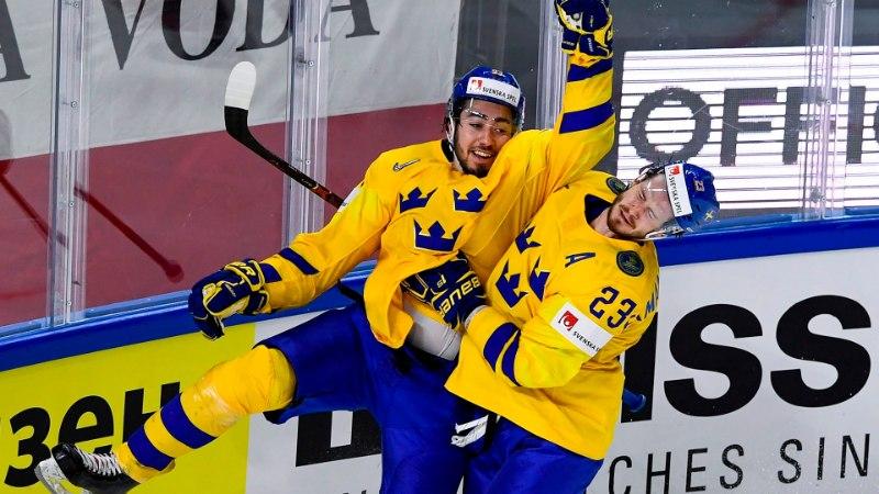 Jäähoki MM: Rootsi teenis Tšehhi vastu magusa võidu, Saksamaa ja Norra vajasid bulliteid