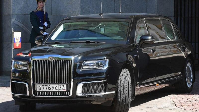 MUL ON SUUREM KUI SUL: Putini uus limusiin on maailma pirakaim presidendiauto